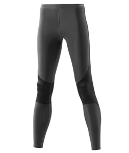 My Skins RY400 recovery tights on a model without a muffin-top